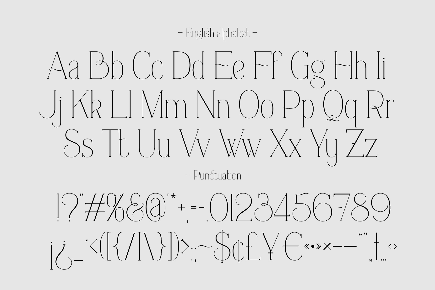 Everleigh Serif font example image 6