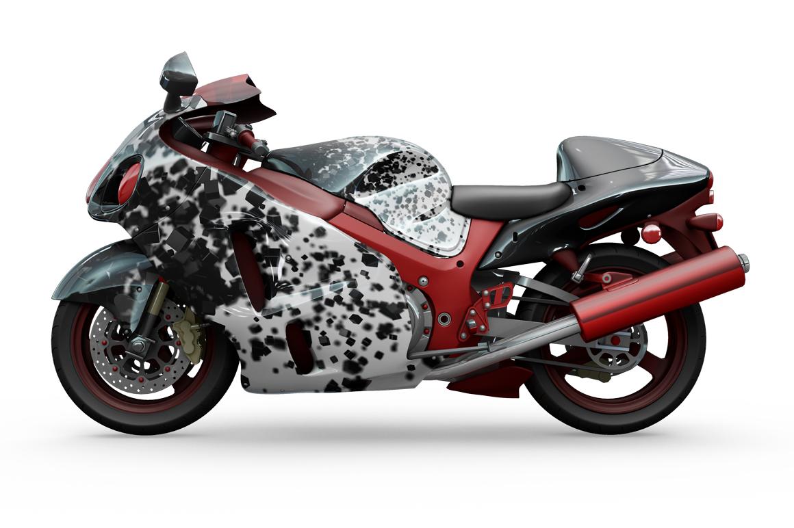 Motorcycle Mockup example image 3