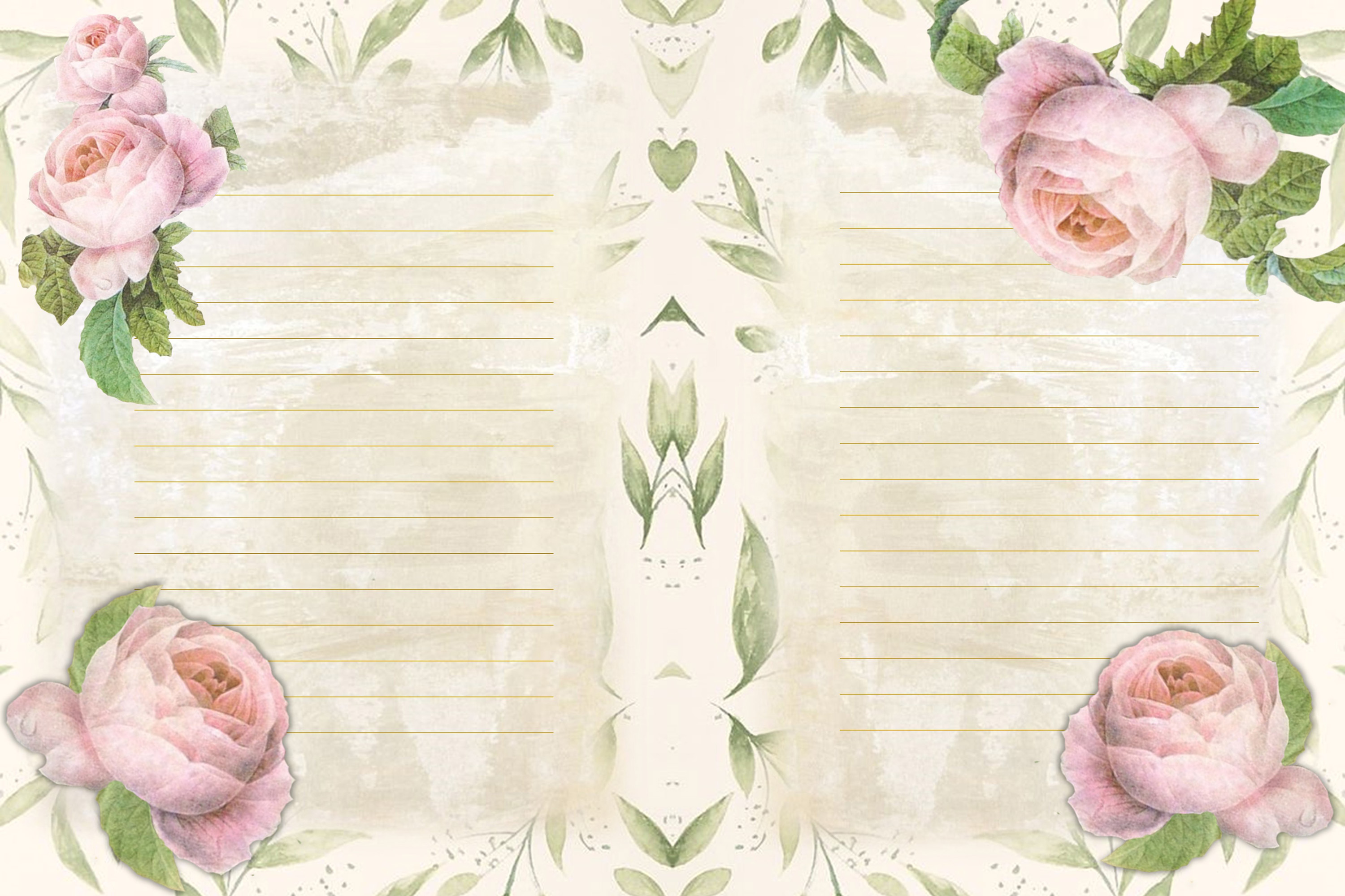 Journaling backgrounds with FREE ephemera PNG and JPEG CU example image 3