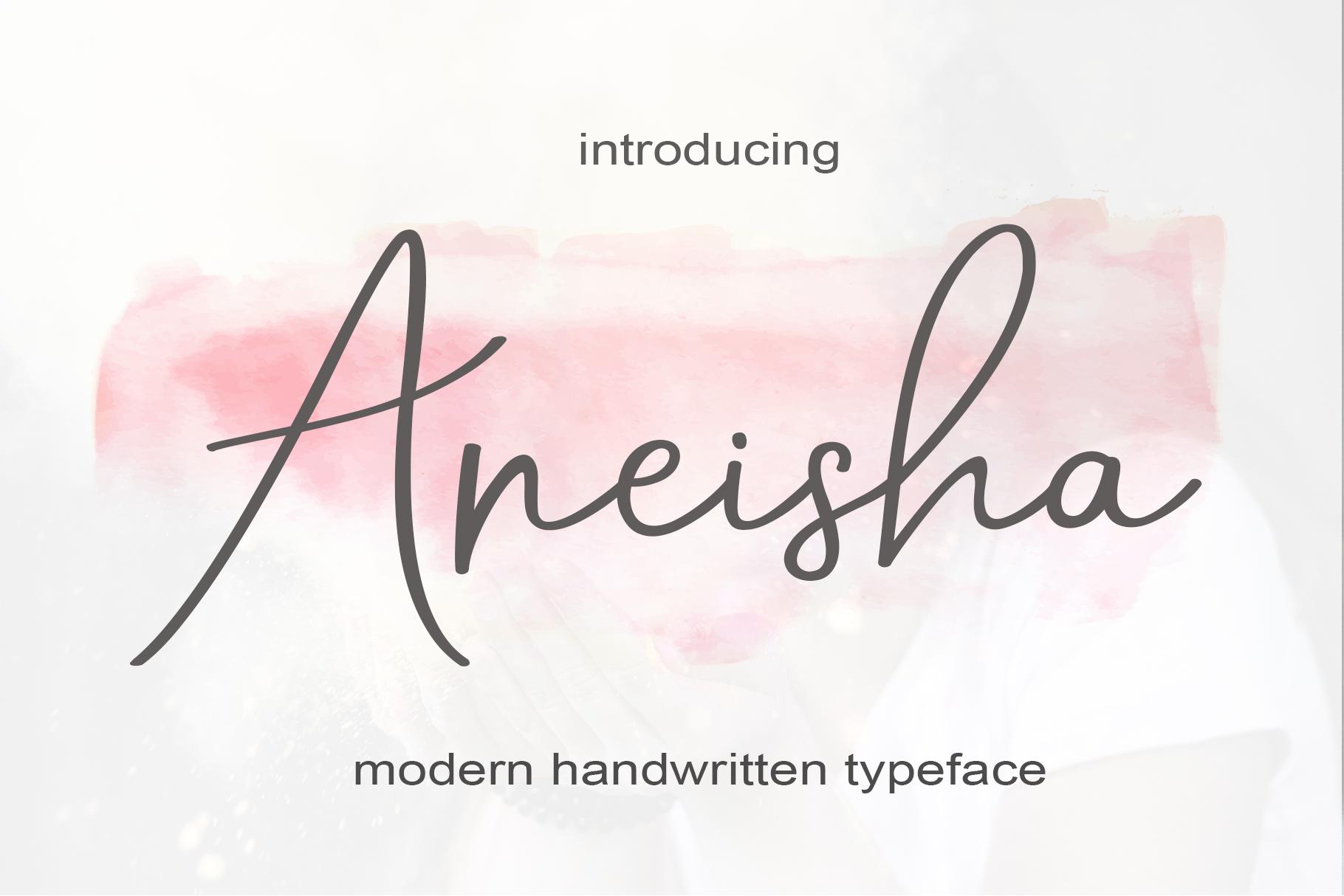 Aneisha Script example image 1
