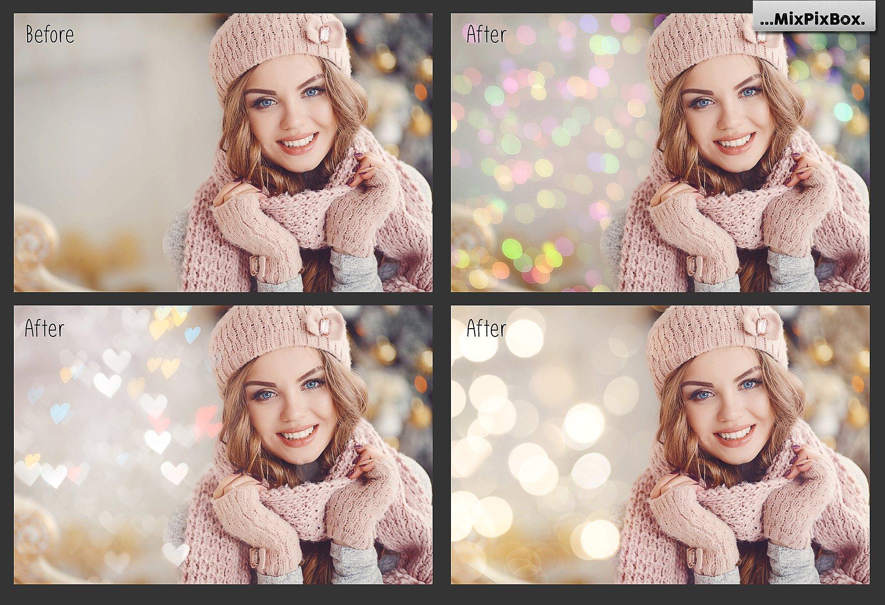 100 Bokeh Photo Overlays example image 3
