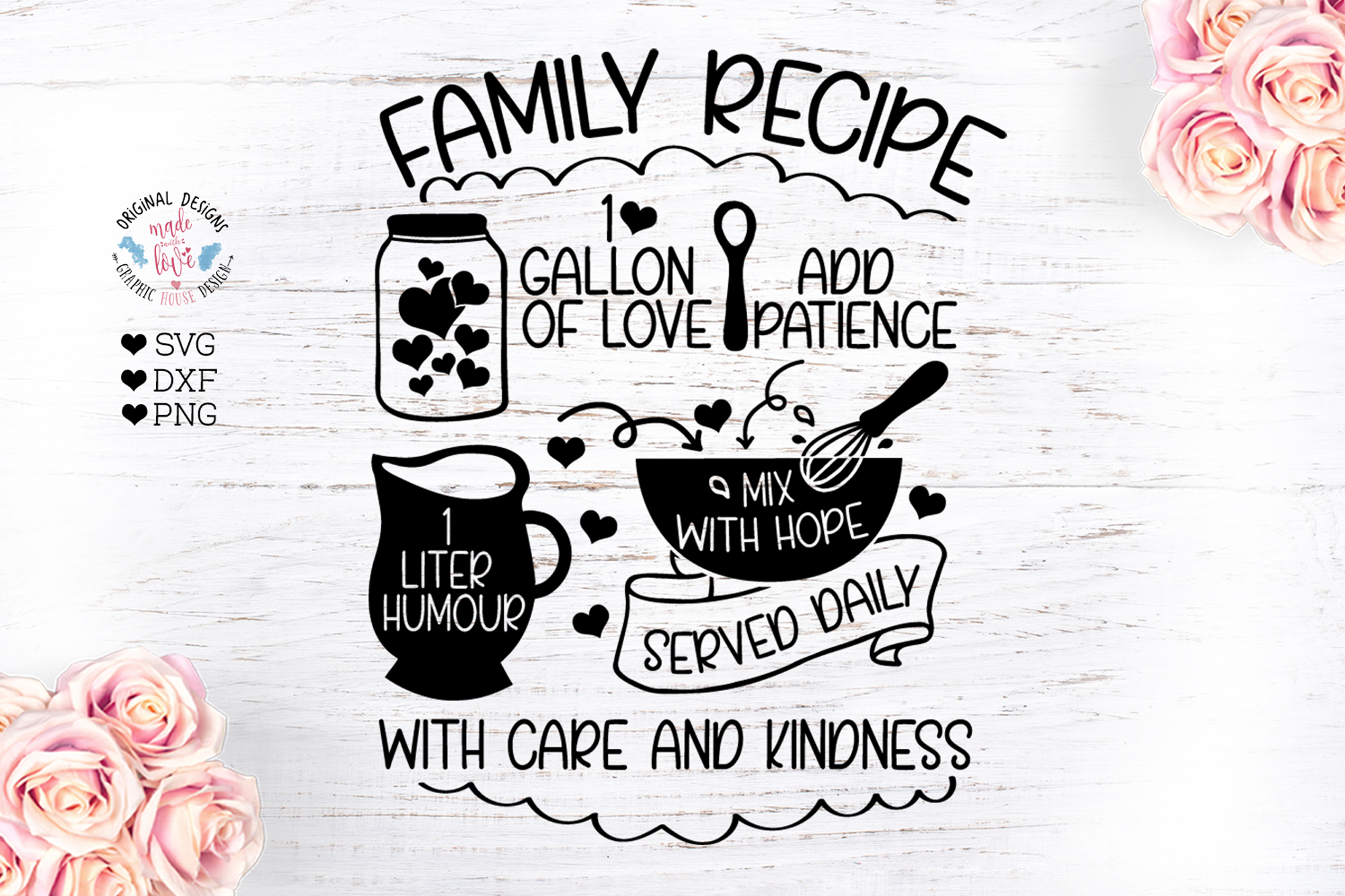 Family Recipe Cut File example image 1