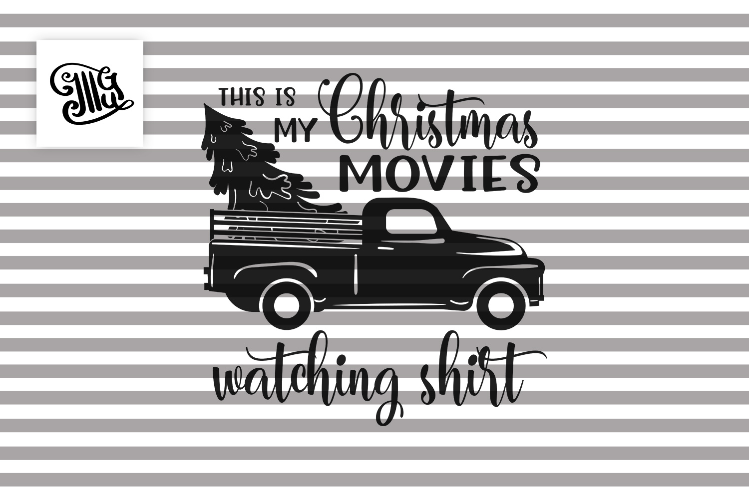 This is my Christmas movies watching shirt example image 2