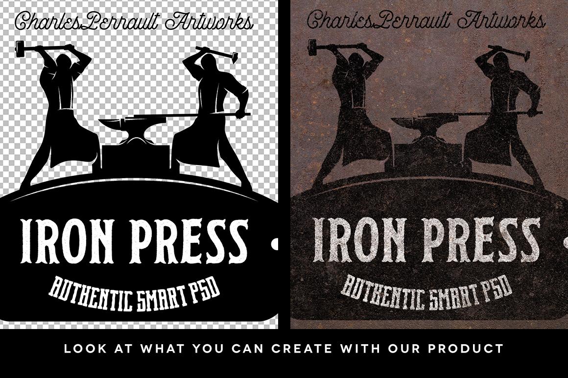 Iron Press Smart PSD example image 2