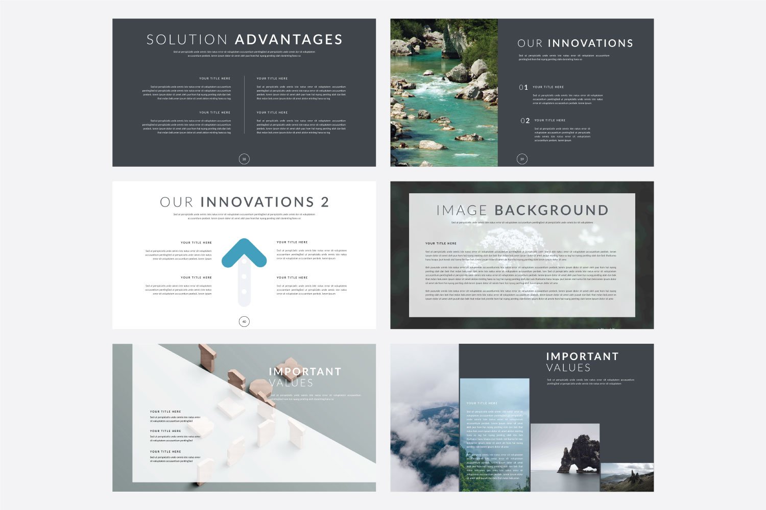 Phylox Powerpoint template example image 8