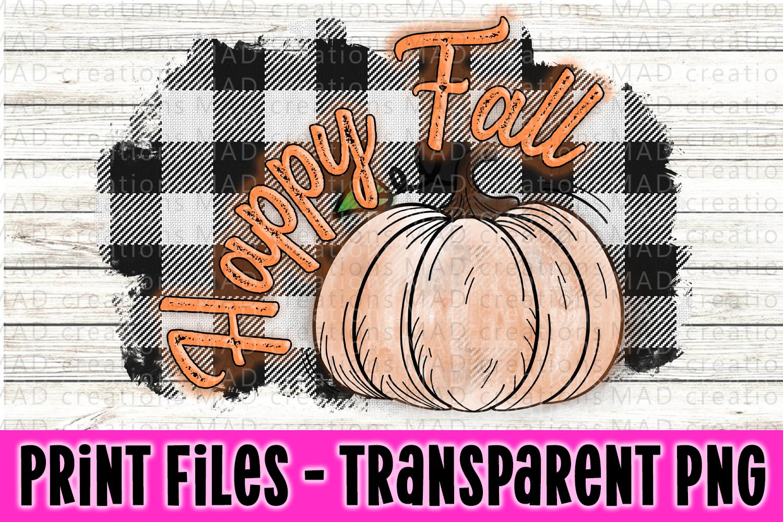 6 PNG Happy Fall Bundle - Pumpkin Bundle - Print File example image 2