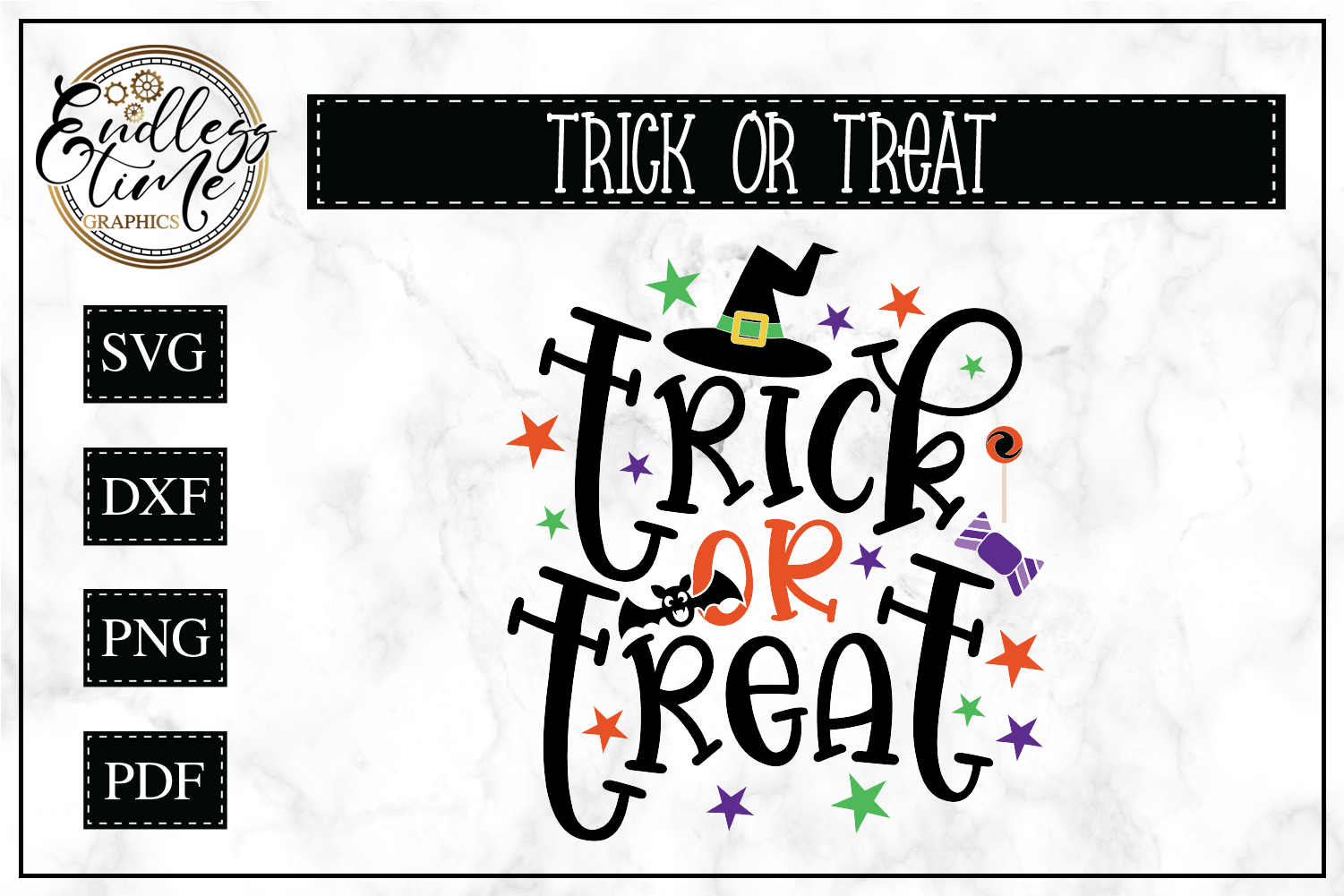 Trick Or Treat - Halloween SVG File example image 1