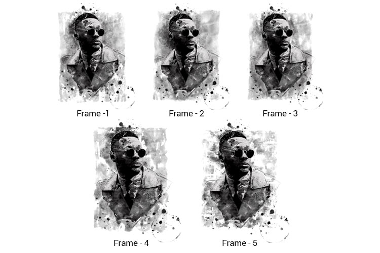 Water-Ink Photoshop Action example image 4