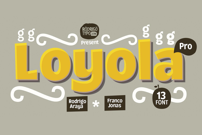 Loyola Pro example image 1