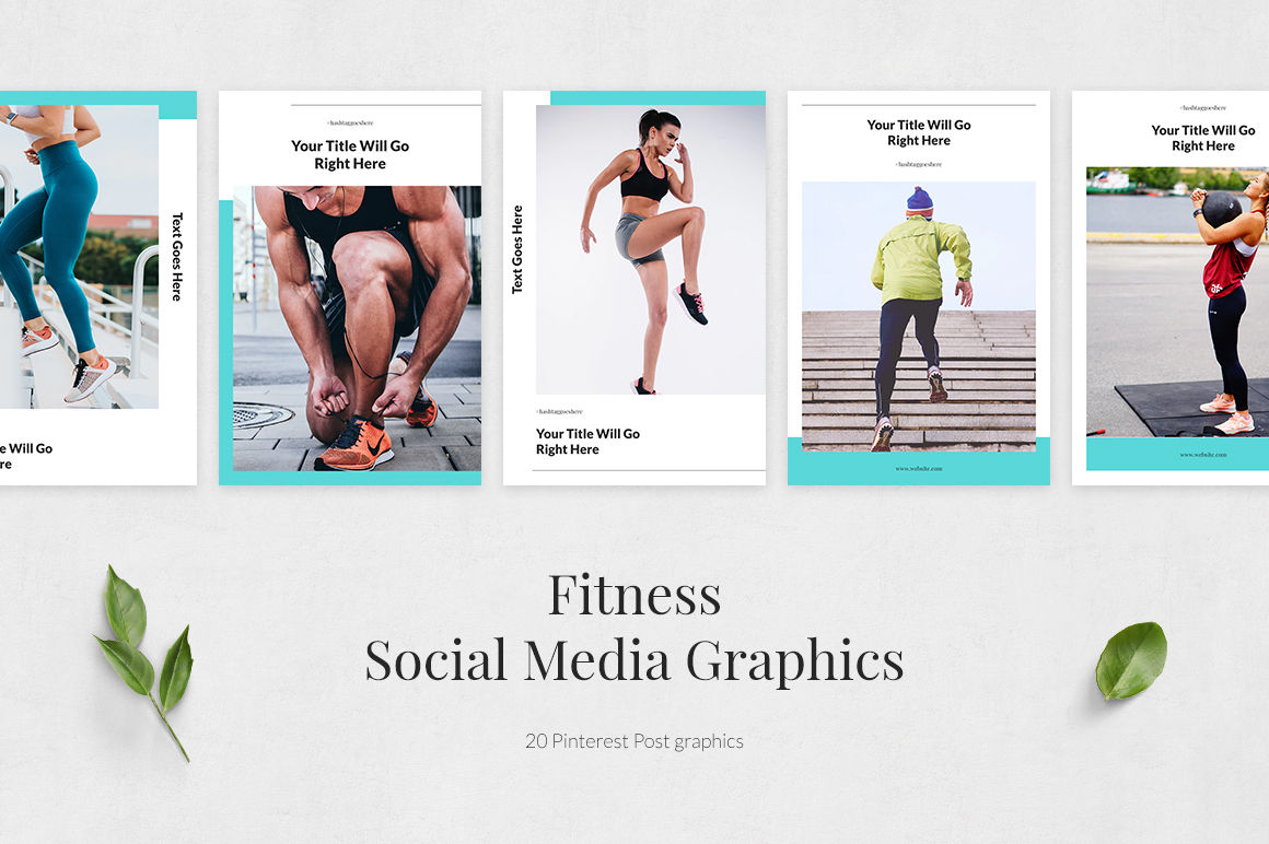 Fitness Pinterest Posts example image 2
