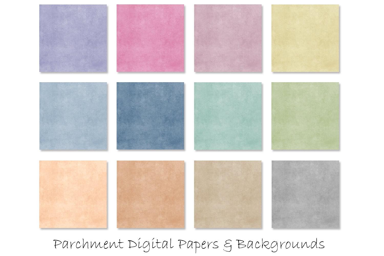 Parchment Paper Texture - Parchment Digital Paper Background example image 2