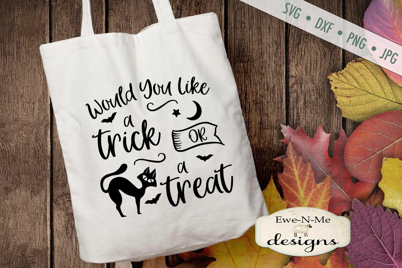 Halloween Mini Bundle - Trick or Treat - Black Cat - SVG DXF example image 7