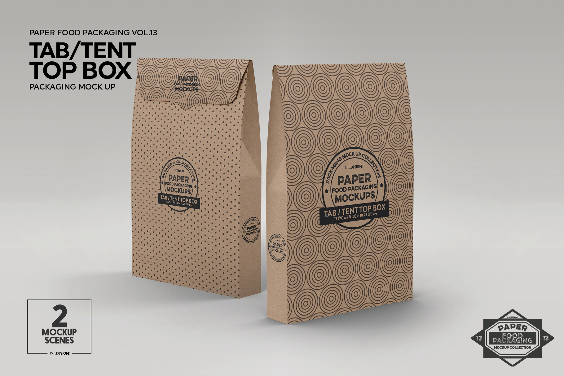 vol 13 food box packaging mockups