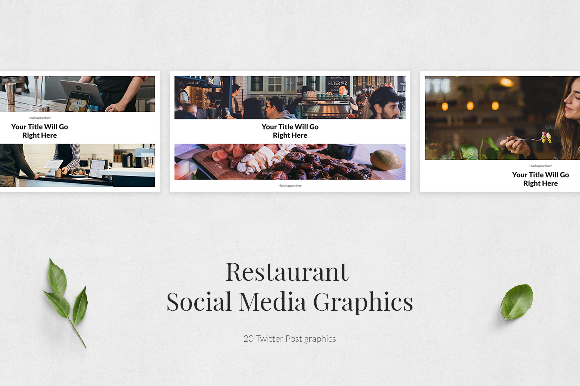 Restaurant Twitter Posts example image 2