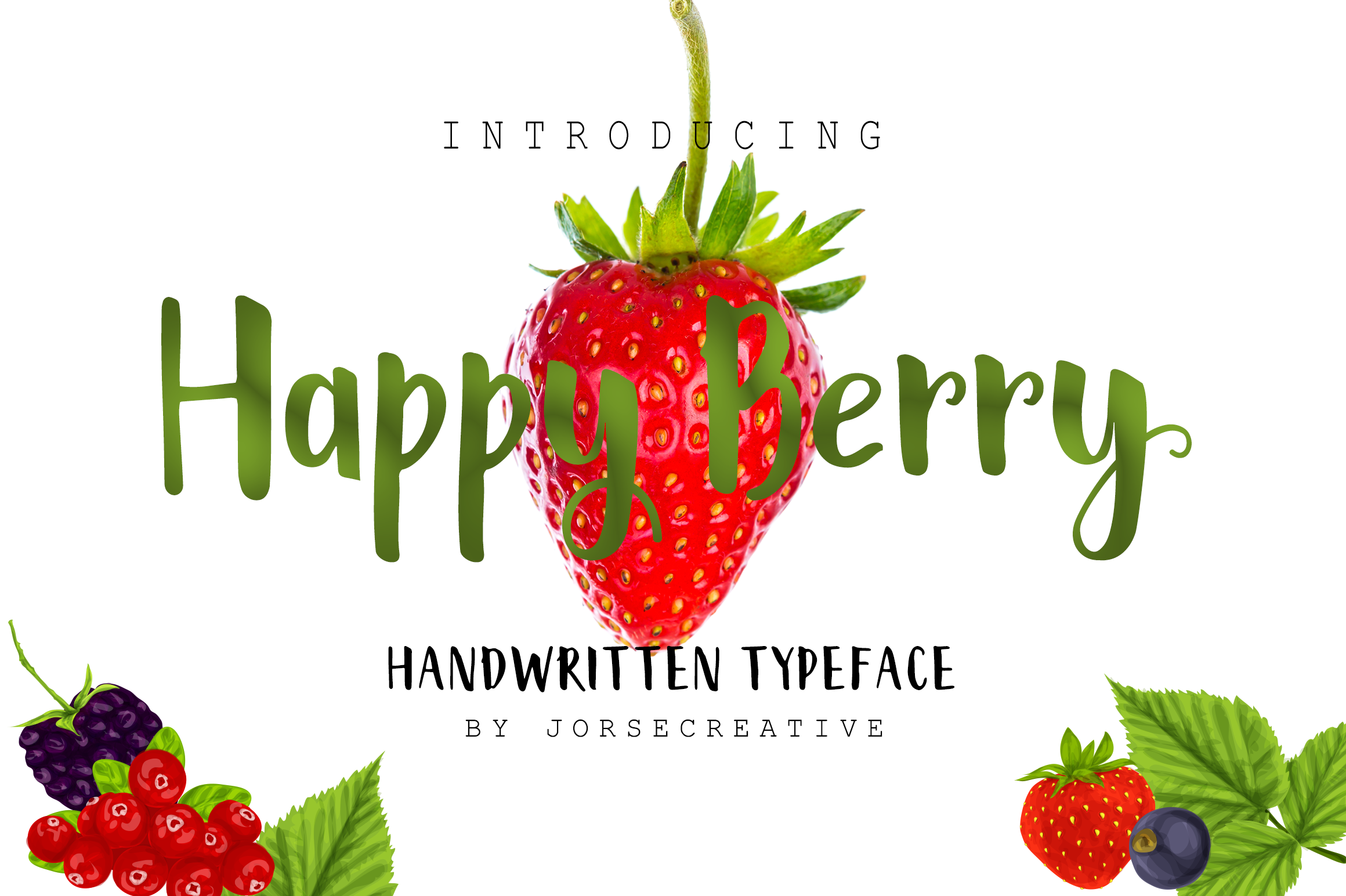 View Happy Berry Font
