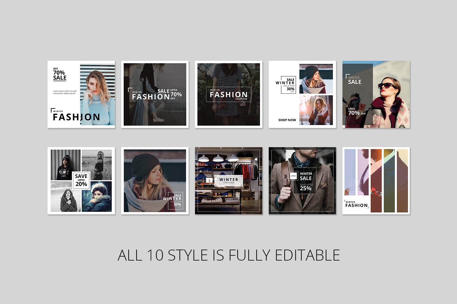 Fashion Instagram Banner Pack example image 2