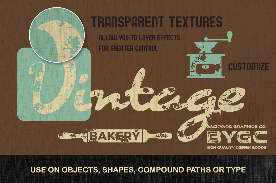 Letterpress Vector Textures example image 3