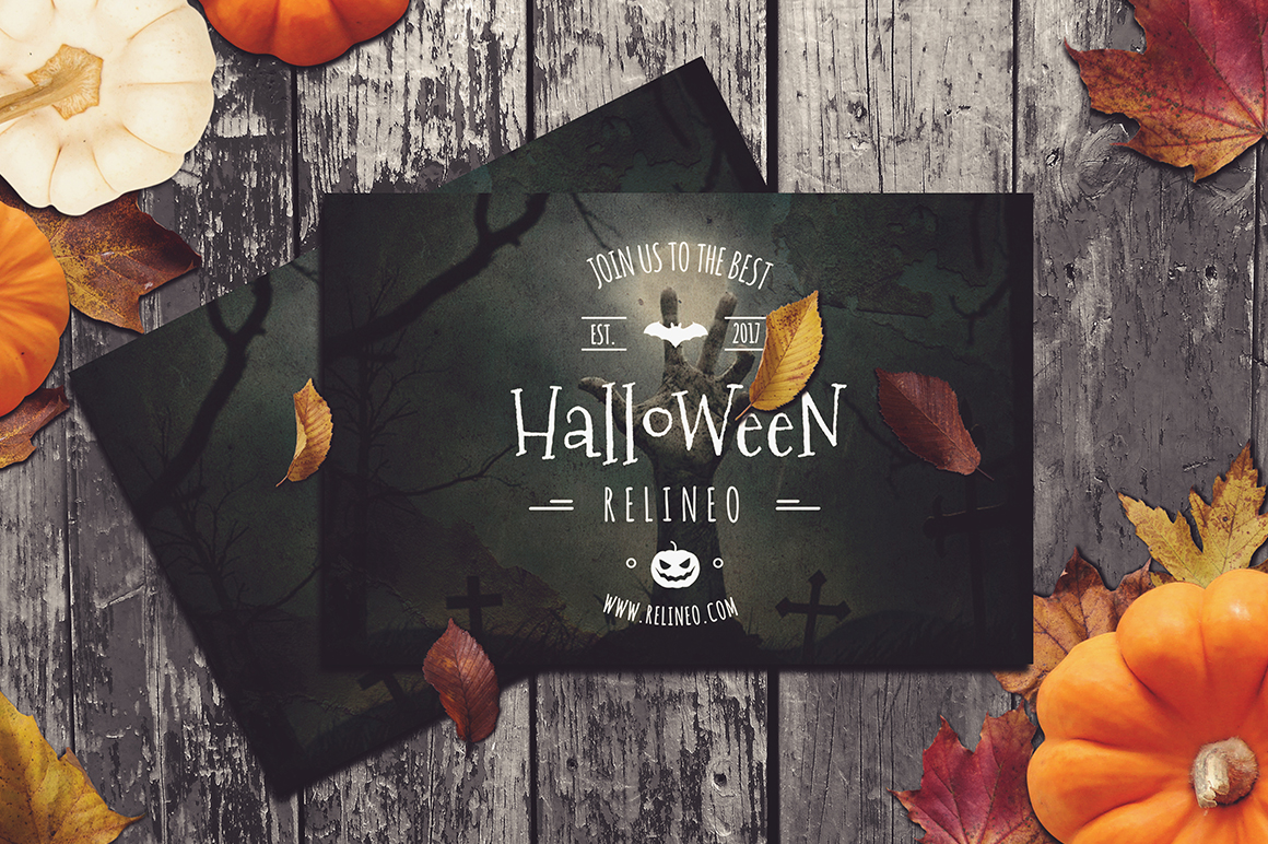 Halloween Mock-up Pack #2 example image 5