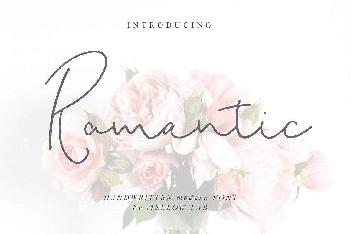 Romantic Script example image 1
