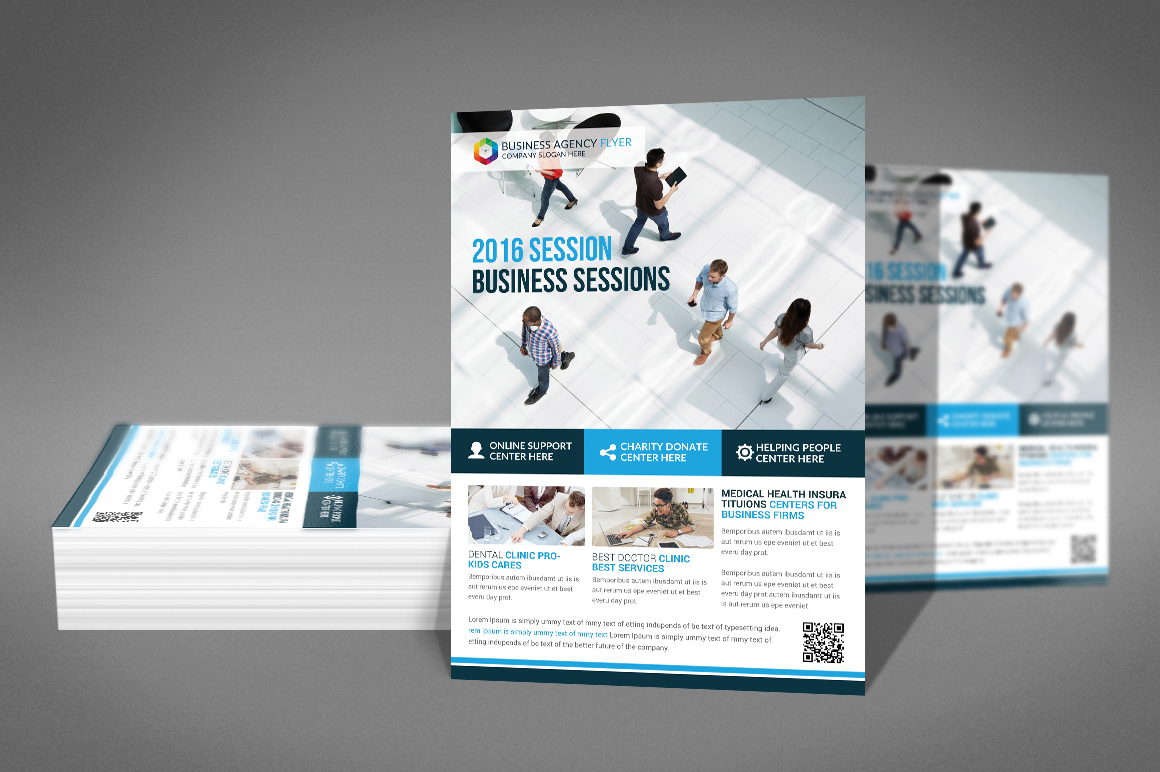 Business Agency Flyer Template example image 2