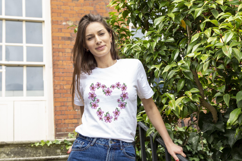 Bella-Canvas 3001 T-shirt Digital Mockup Photo - JPG File example image 2