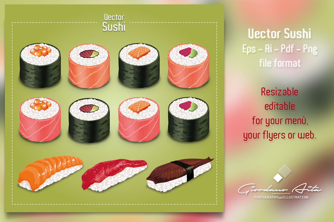 Vector SUSHI example image 3
