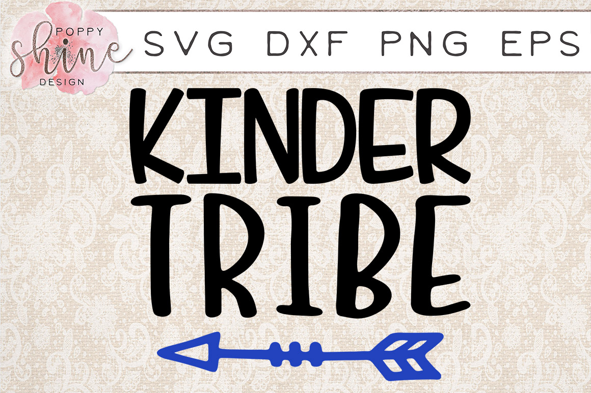 Kinder Tribe SVG PNG EPS DXF Cutting Files example image 1