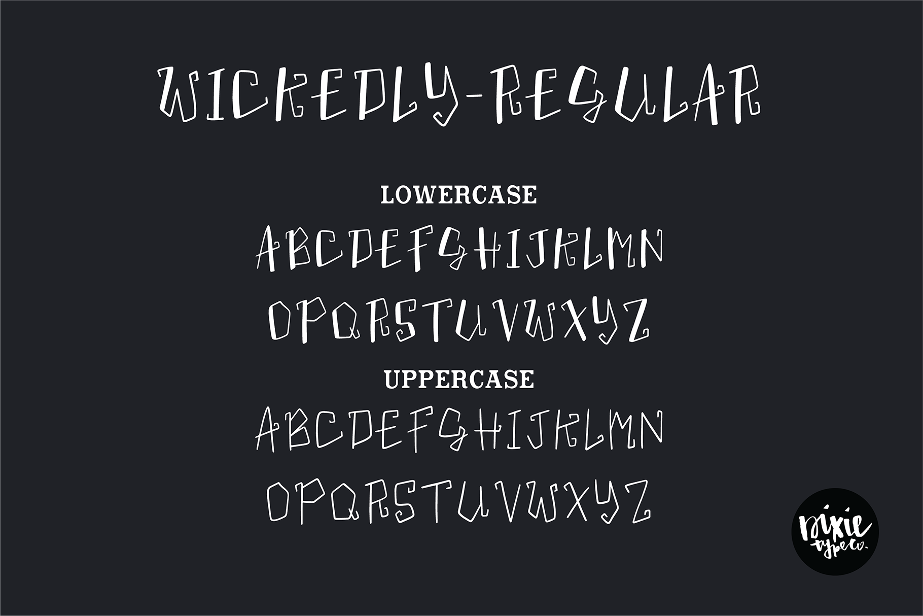 """""""Wickedly"""" a Decorative Halloween OTF Font Family example image 2"""