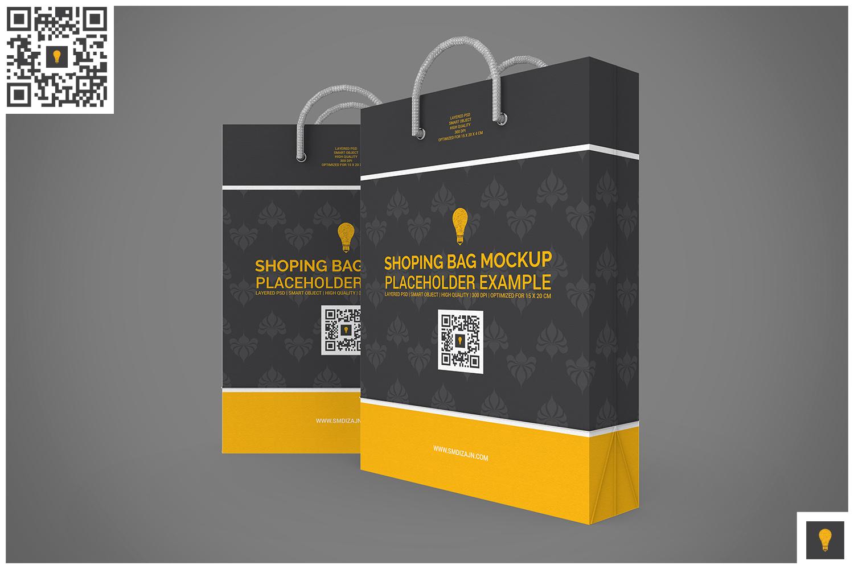 Shopping Bag Mock-up example image 9
