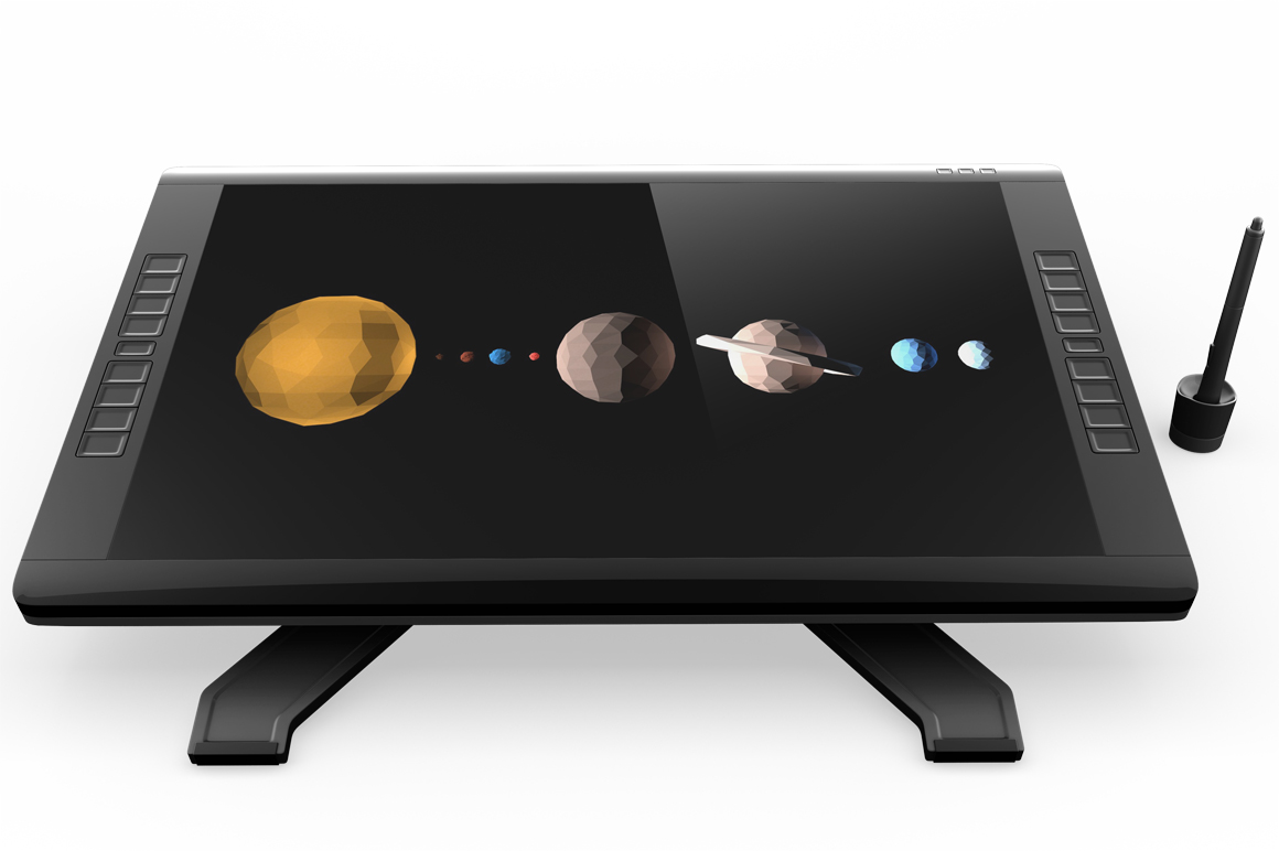 Wacom Graphic Screen Tablet Mockup example image 5