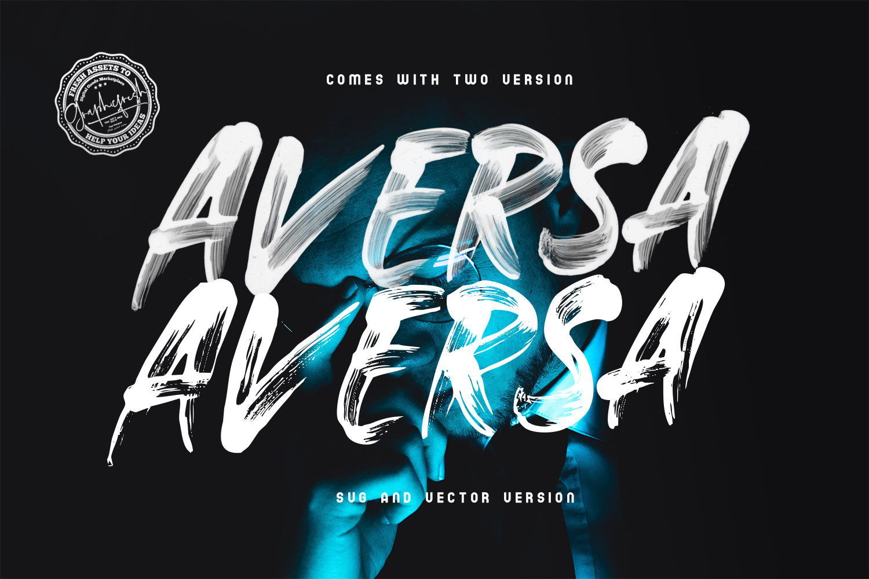 Aversa SVG Font example image 5