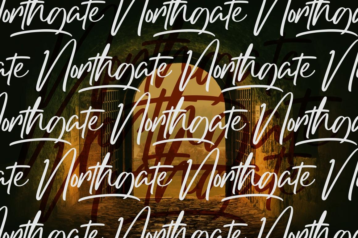 Northgate - Stylish Handwritten Font example image 7
