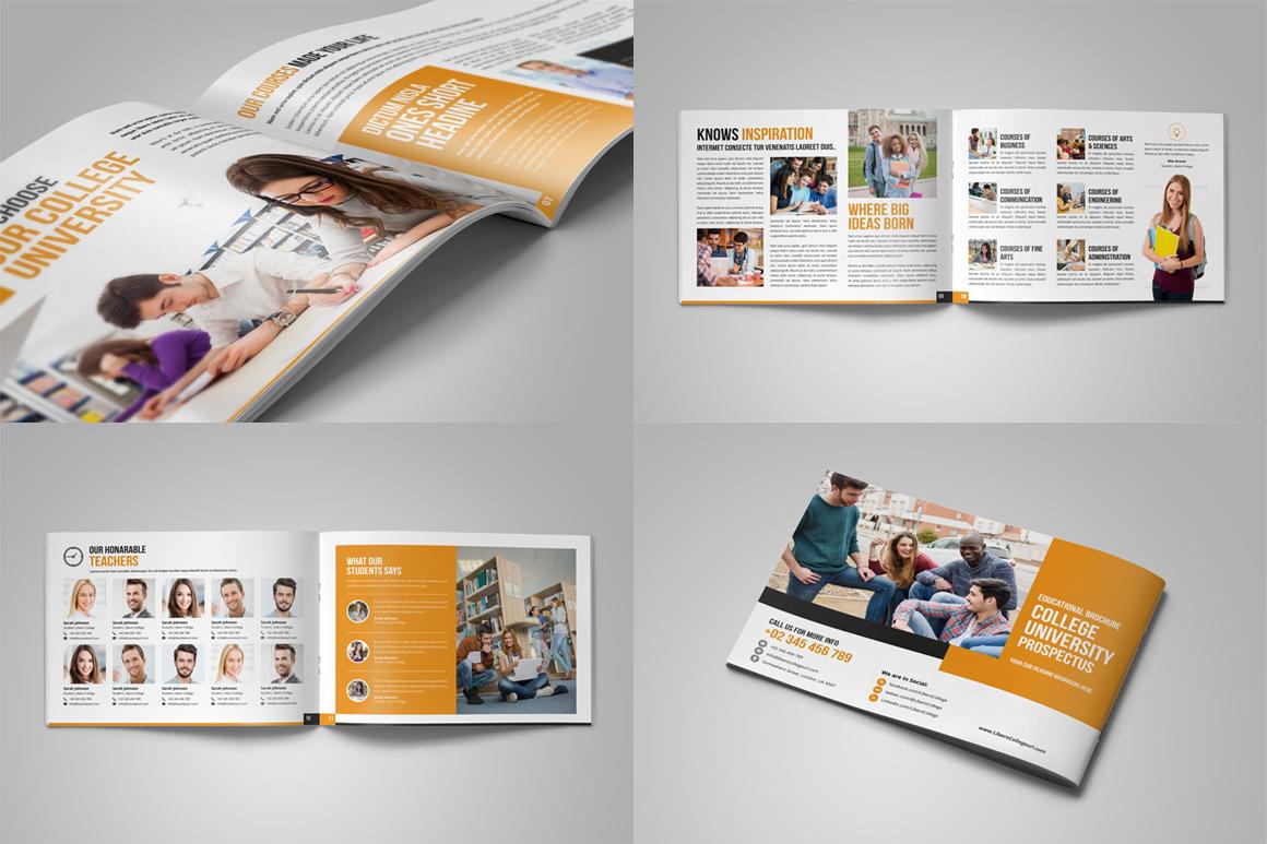 Education Prospectus Brochure Bundle example image 5