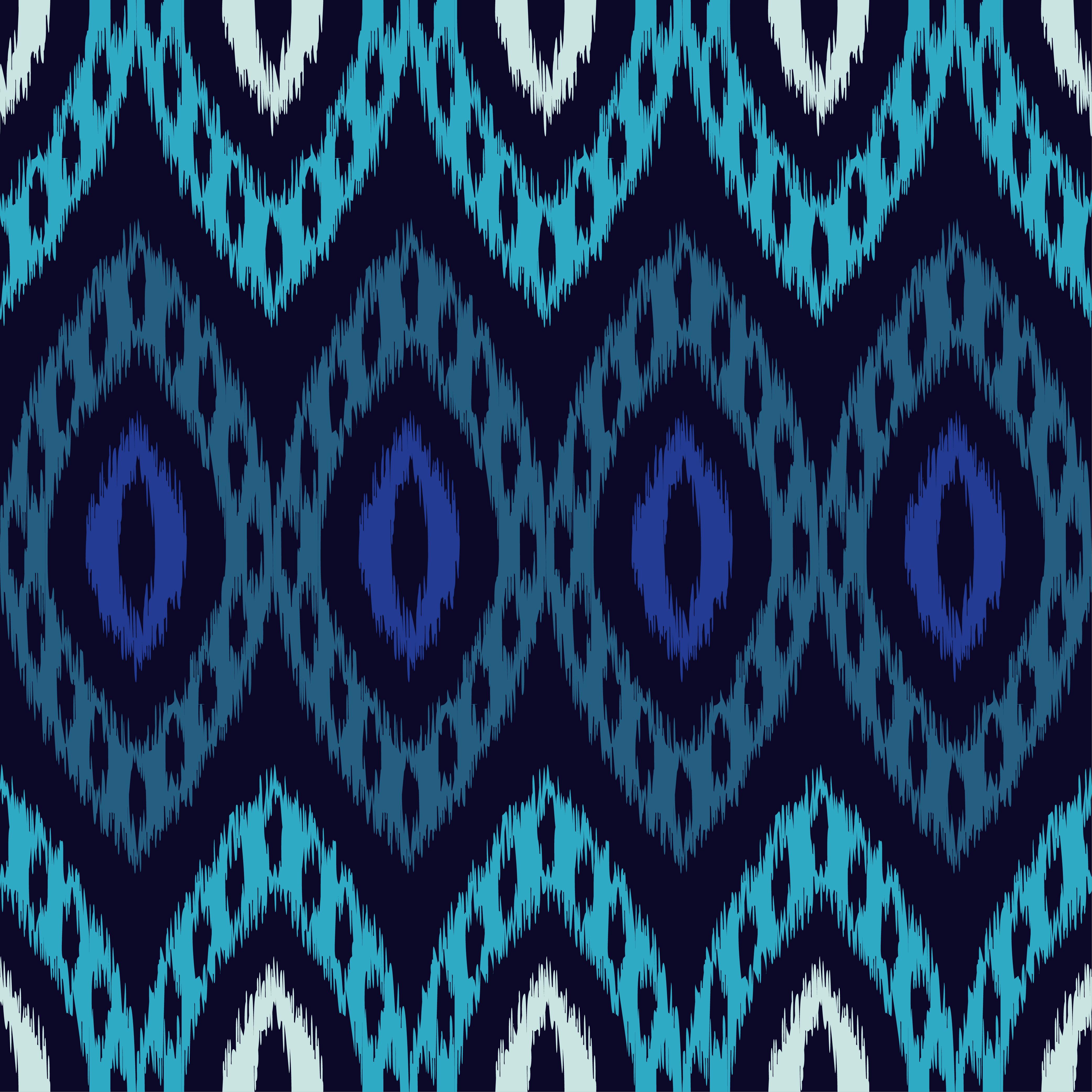 Set of 6 Ethnic boho seamless pattern.  example image 5