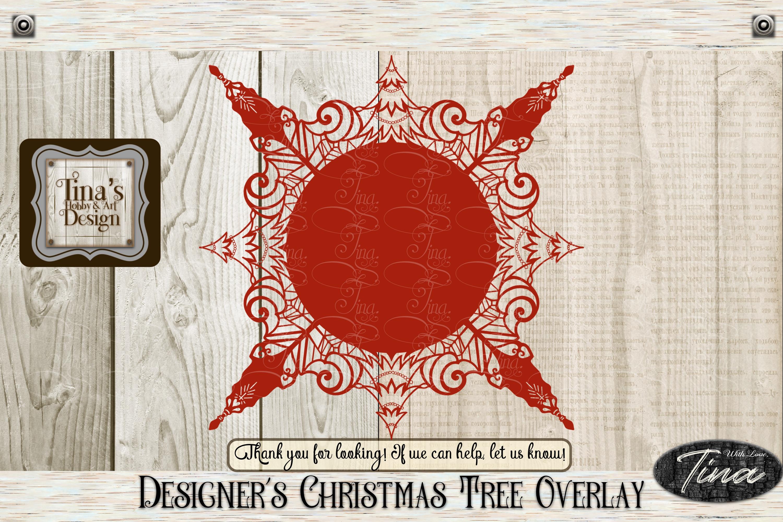 Designer's Christmas Tree Overlay Circular 101418 example image 1