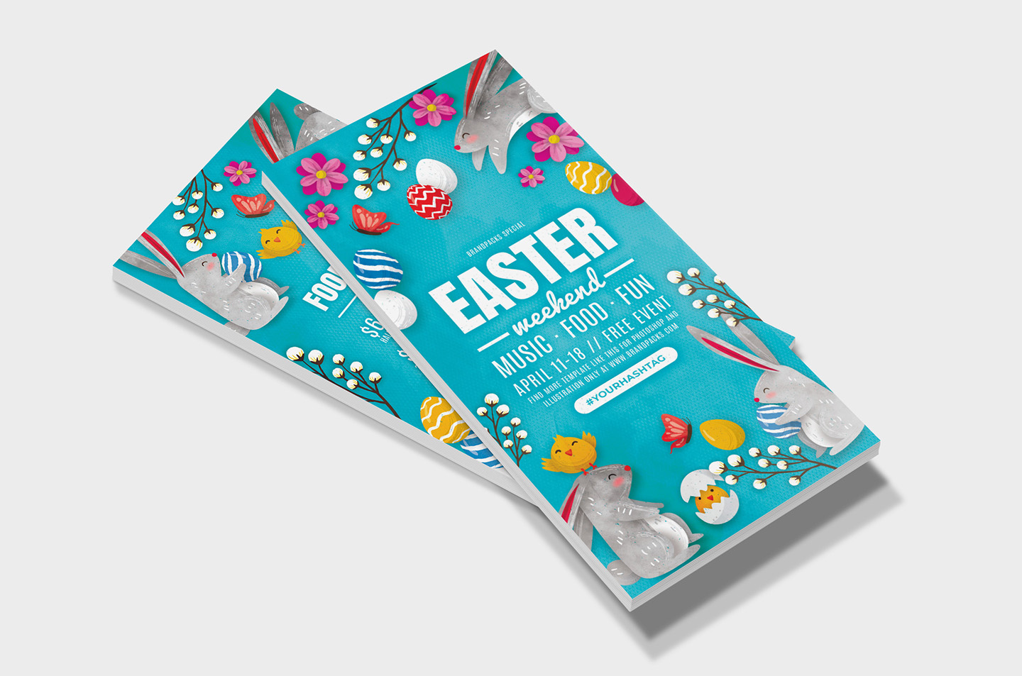 Easter Flyer Templates example image 9