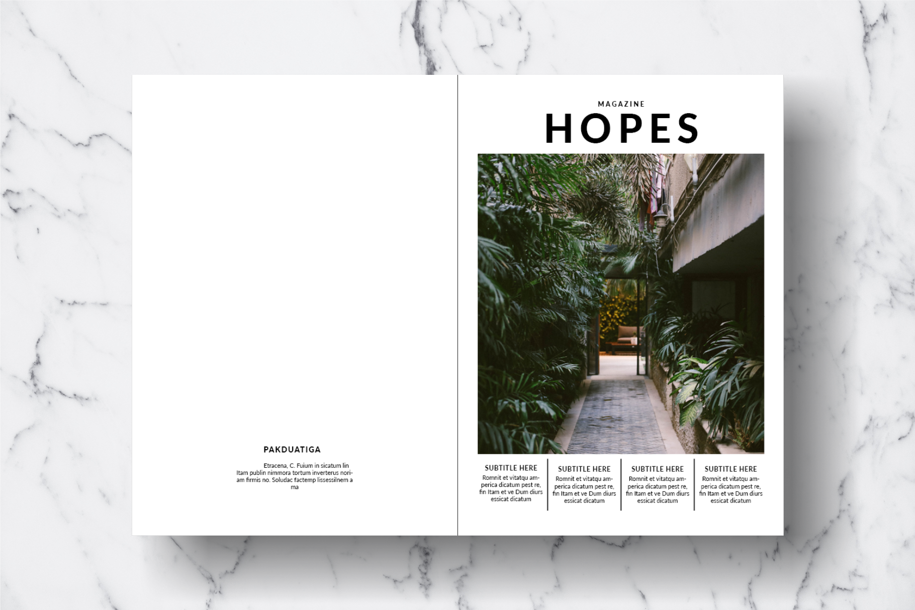 Magazine Template Vol. 14 example image 17