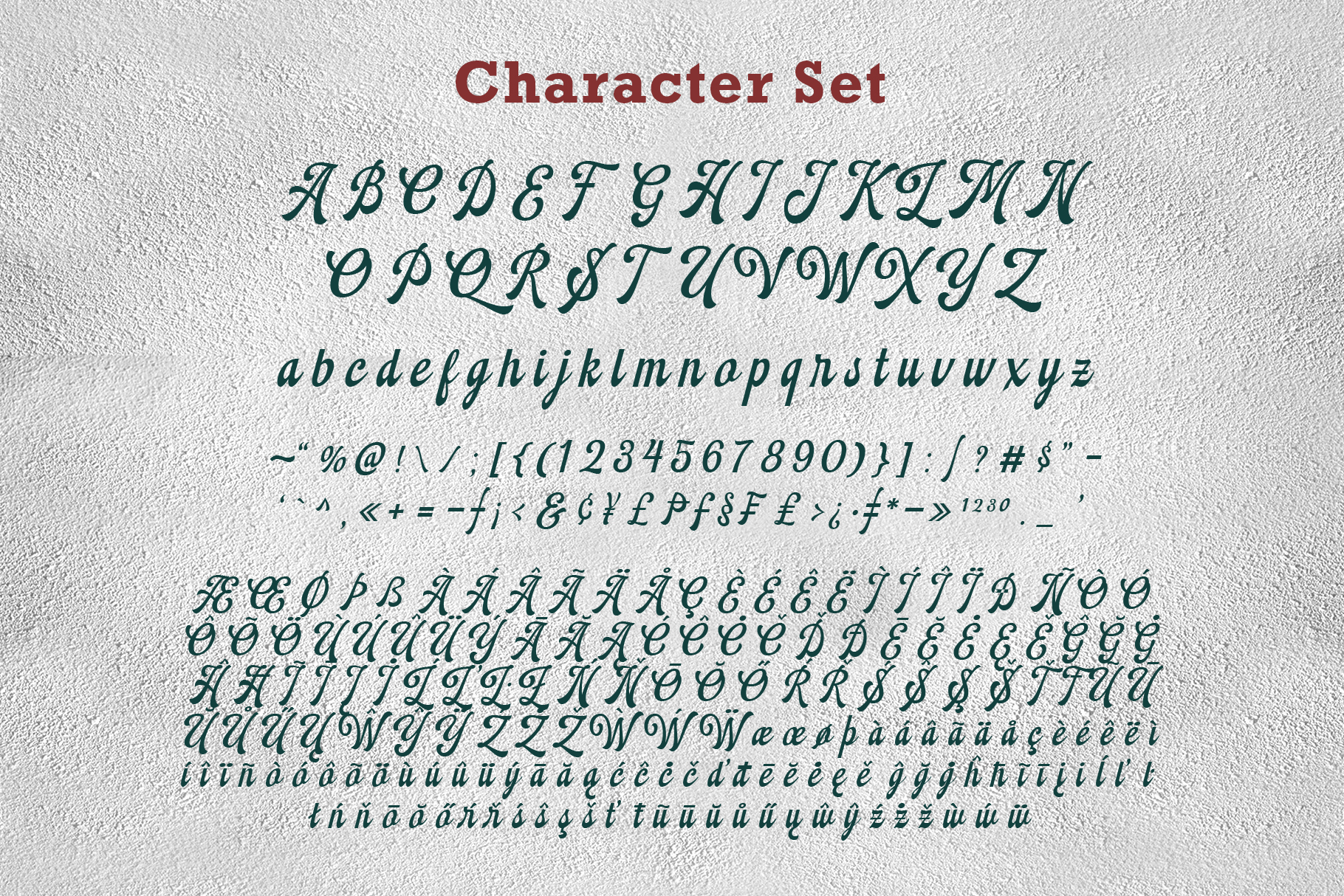 Montheim Script example image 11