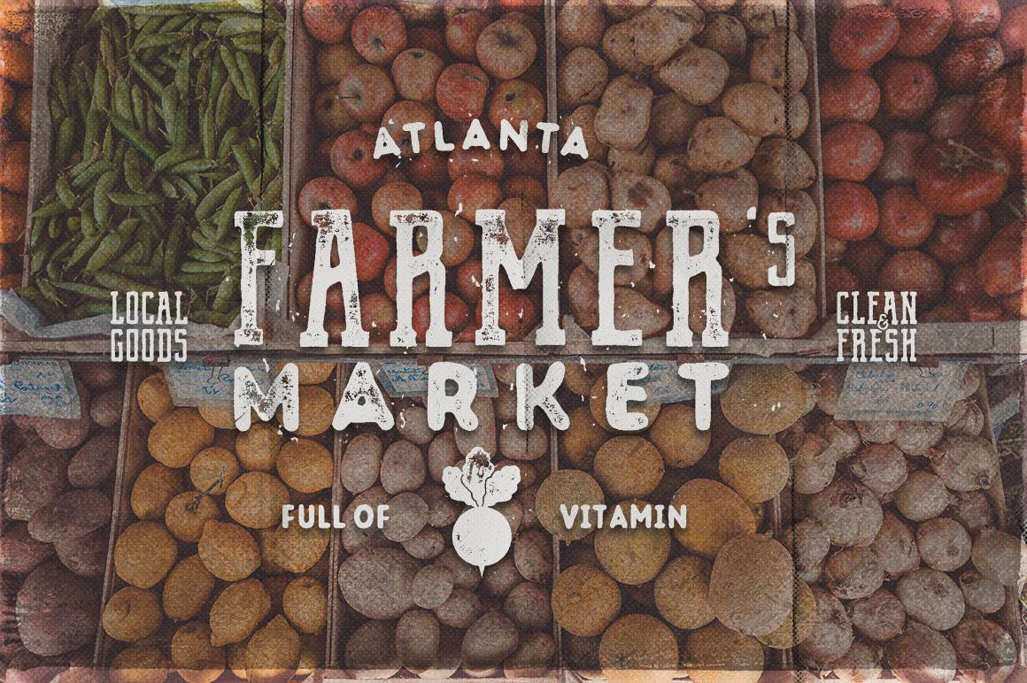Organic Farm & Eco Food Badges example image 3