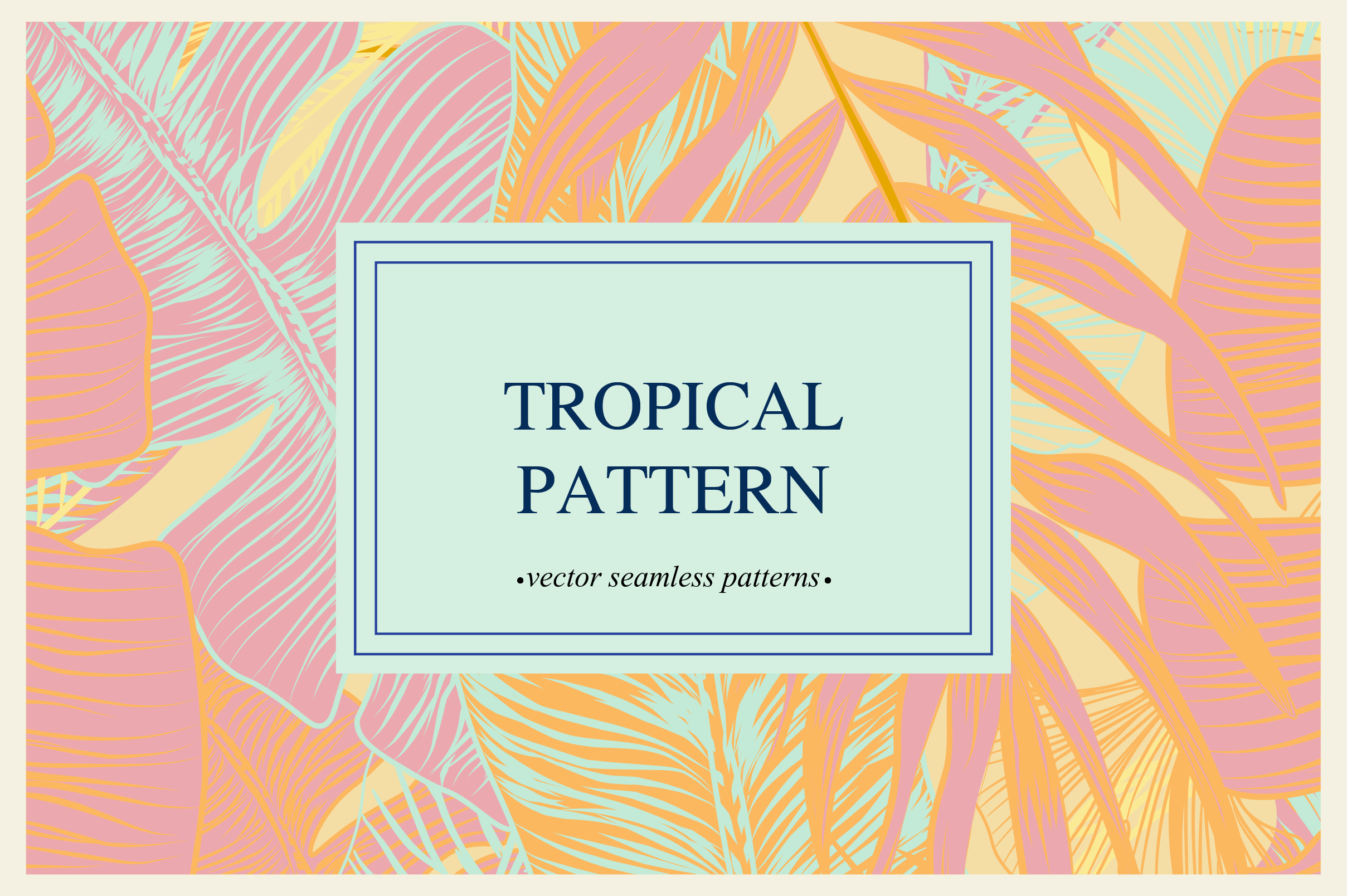 Tropical pattern example image 11