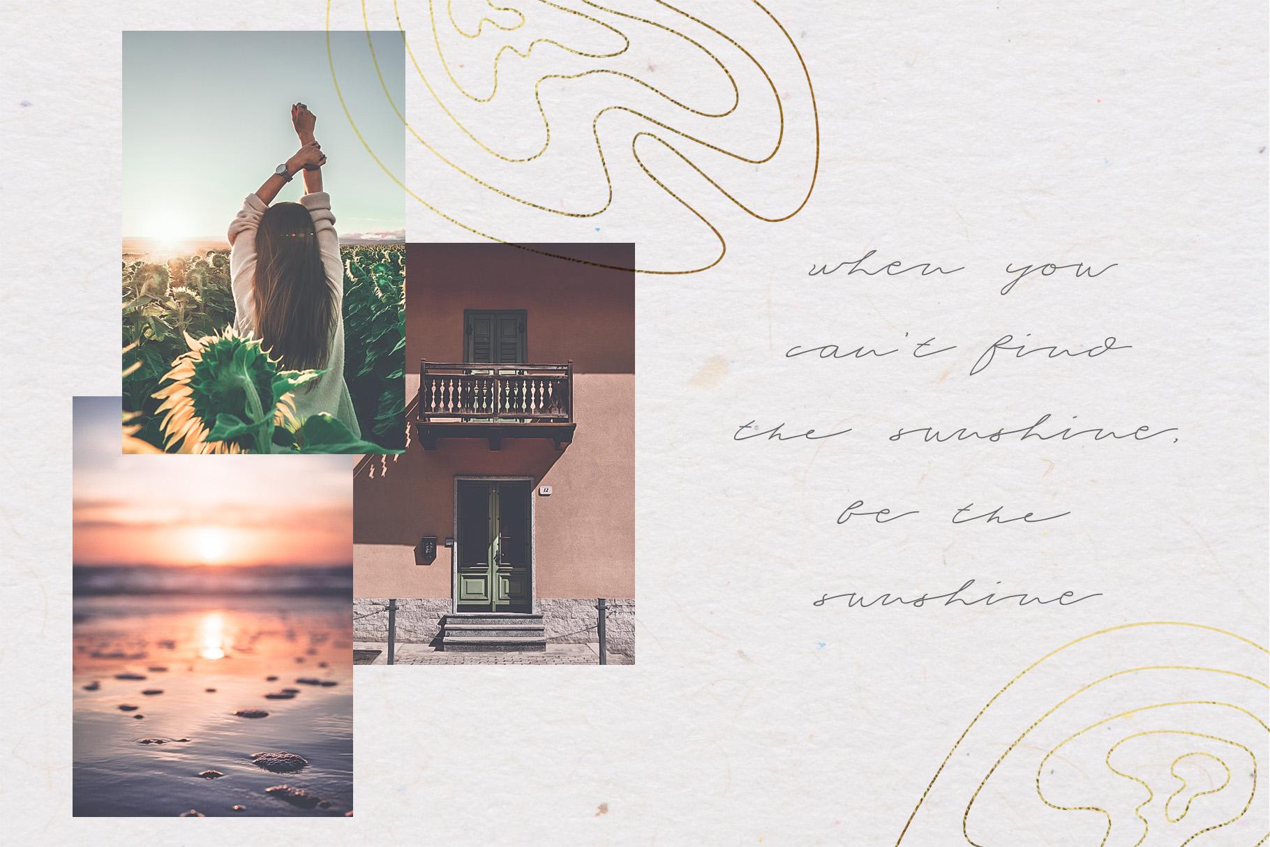 Serene Beauty Handwritten Font Duo example image 2