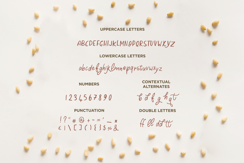 Cooking Papa - handwritten font example image 2