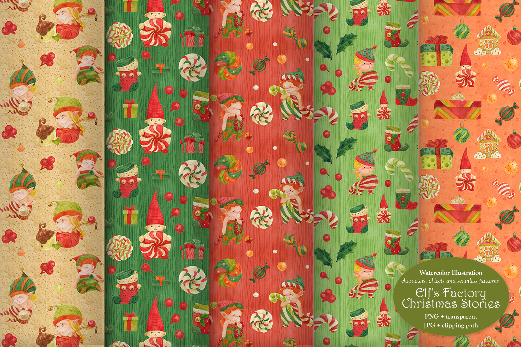 Elf's Factory Christmas Stories example image 6