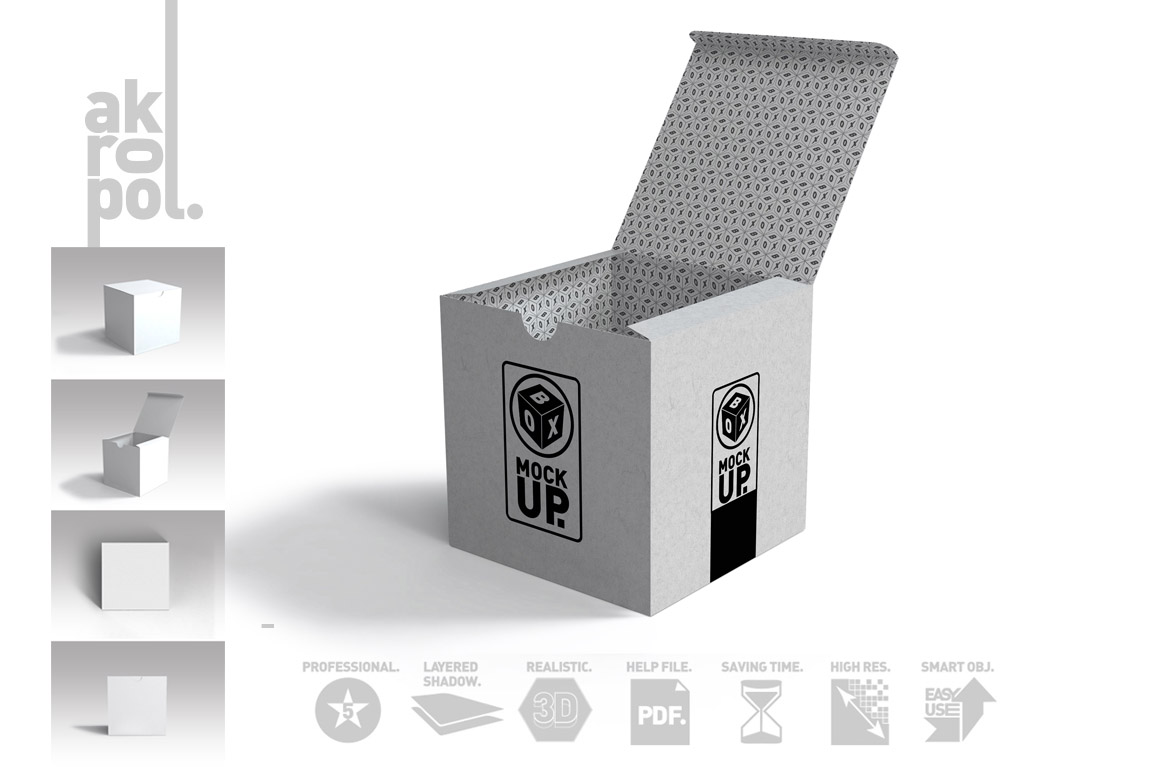 Package Box Mockups example image 3