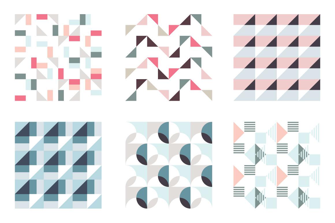 Geometric patterns example image 6