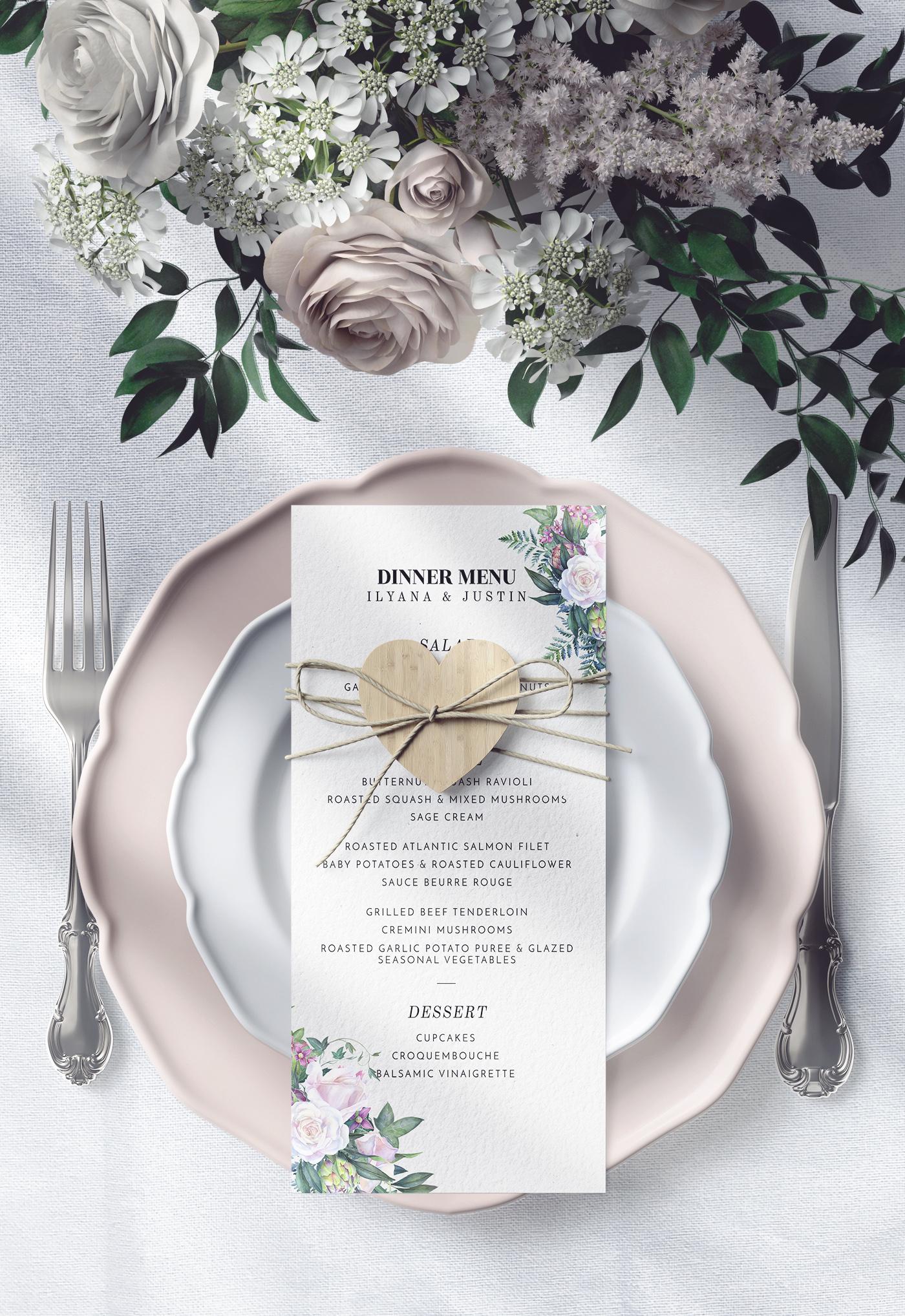 White rose wedding frame clip art example image 9
