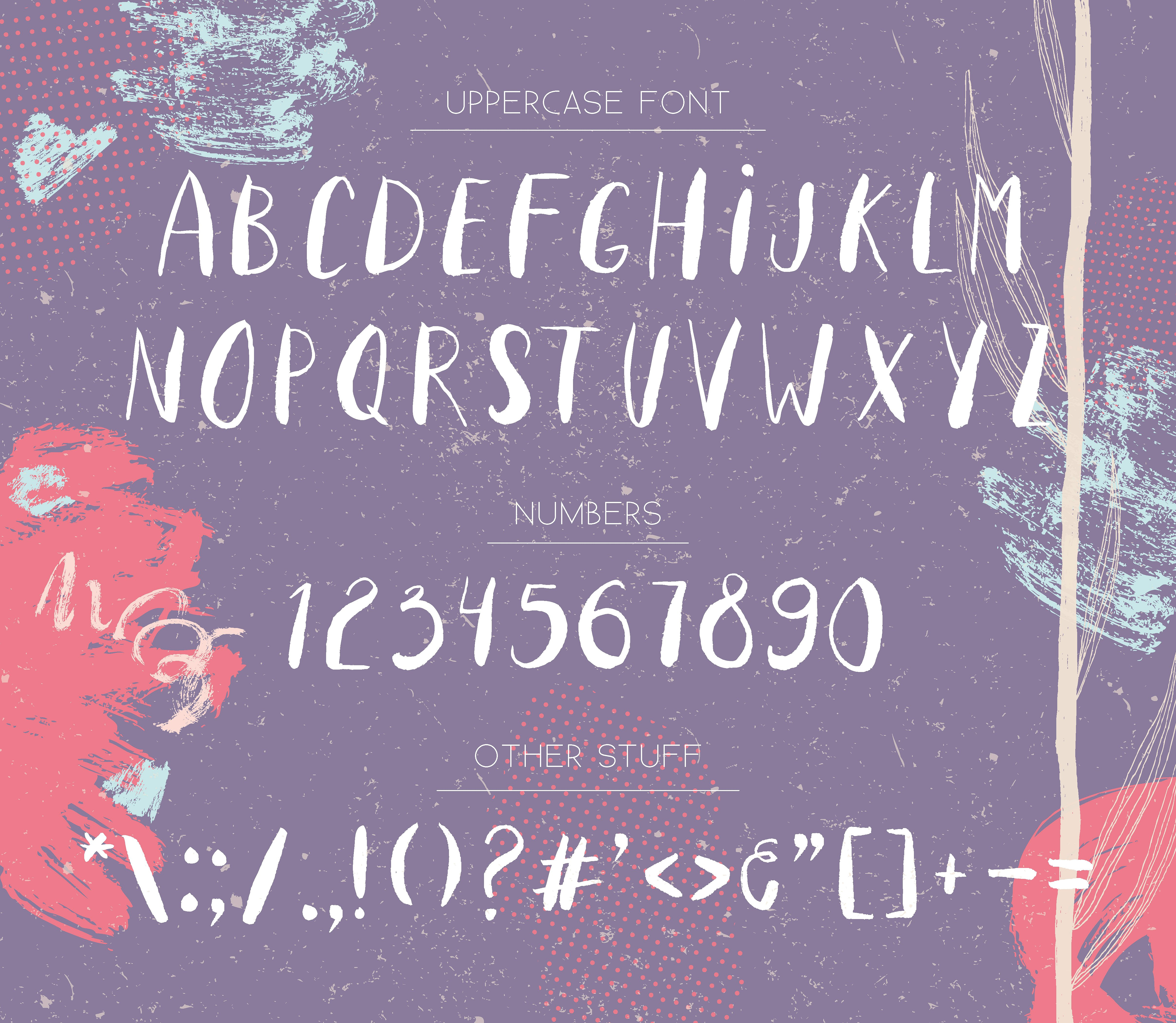 Nordic Space | Uppercase Font example image 2