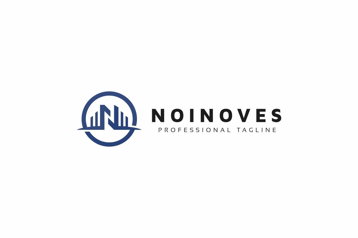 Noinoves N Letter Logo example image 3
