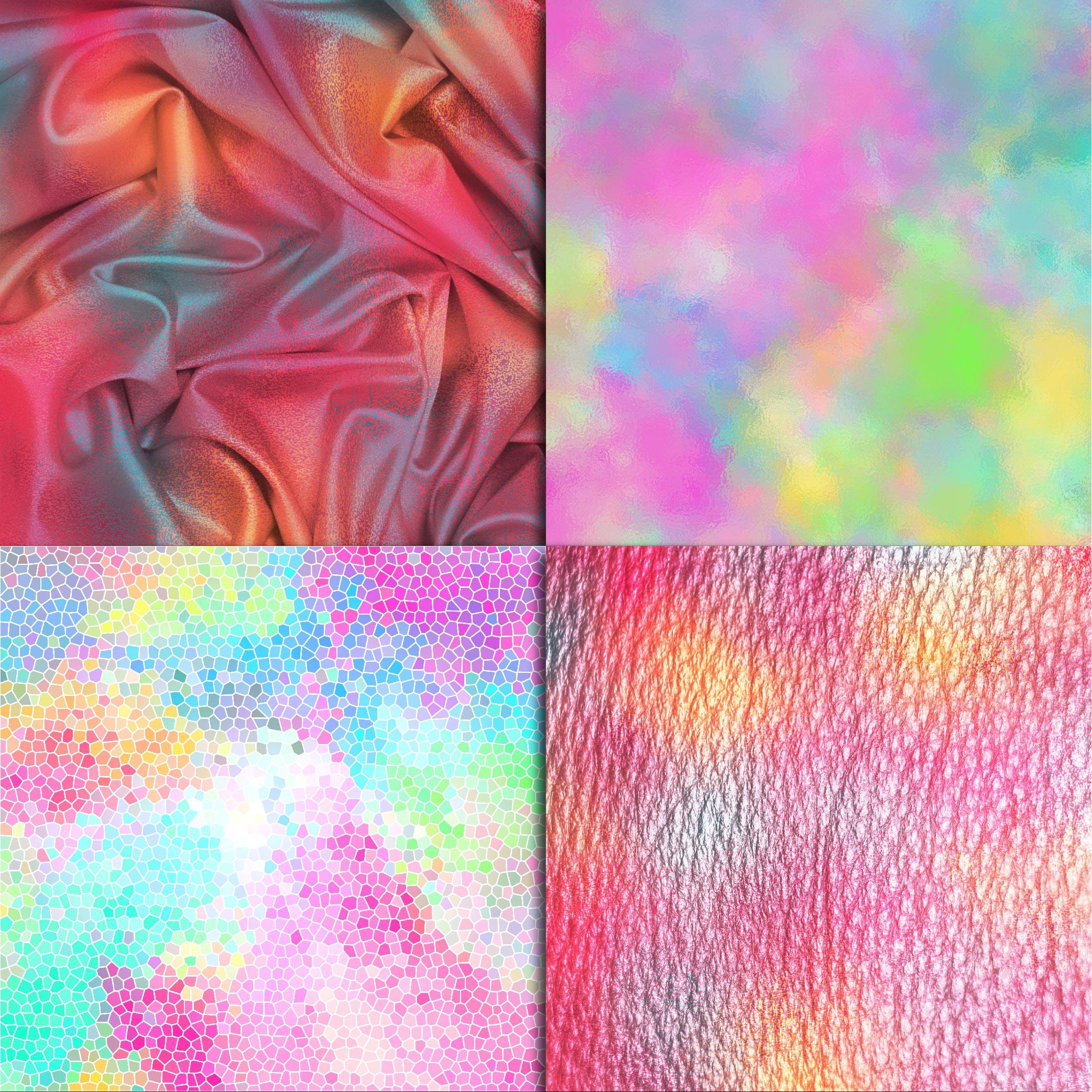 Unicorn Textures Digital Paper example image 3