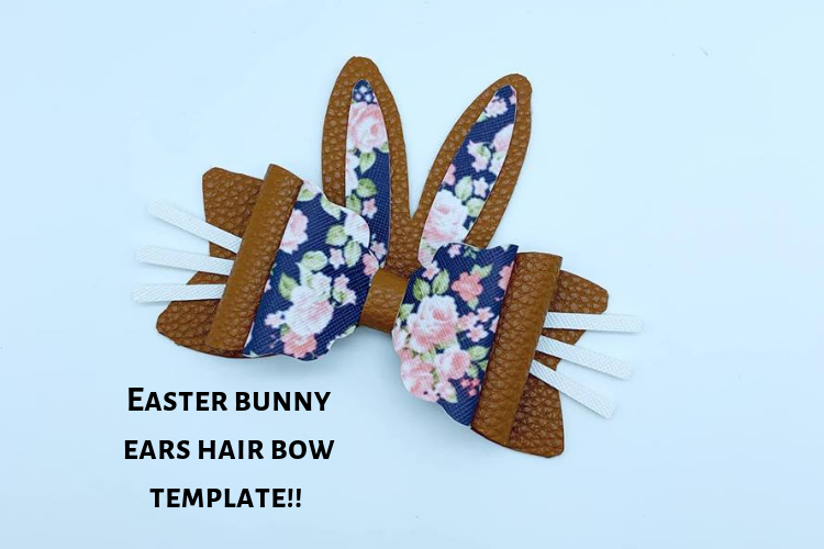 Hair bow template bundle #2 - hairbow svg files - diy bows example image 10